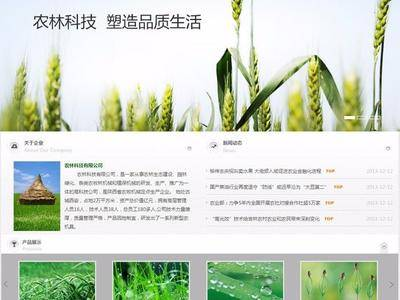 农林科技公司网站