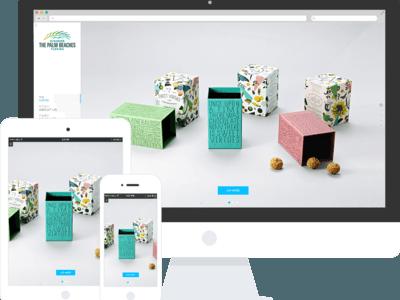 包装设计公司网站响应式