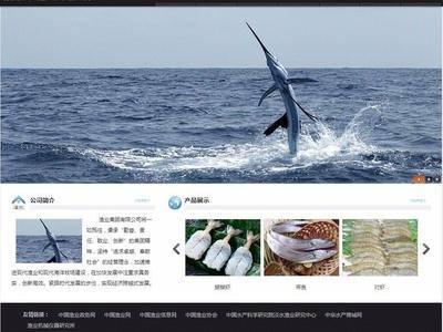 渔业公司网站
