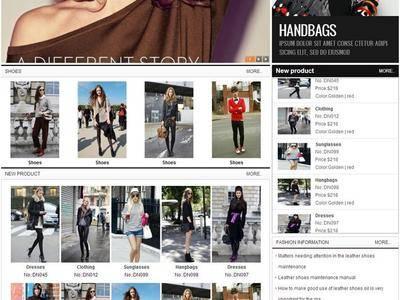 服装外贸网站